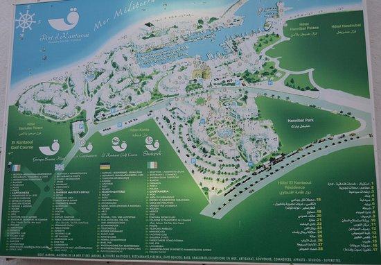 Tunis Governorate, Tunisia: карта порта и достопримечательностей рядом.