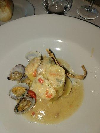 Roccaromana, Италия: piatto di mare