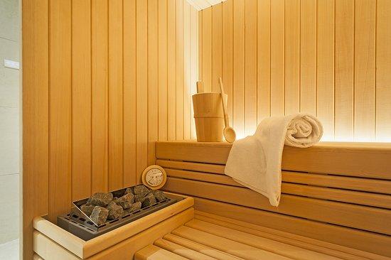 The beach resort sauna