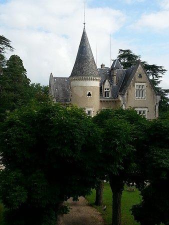 Chancelade, France : Das Schloß, Blick von der Orangerie