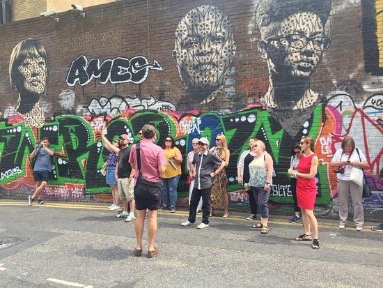 Shoreditch Street Art Tours: Dave erklärt