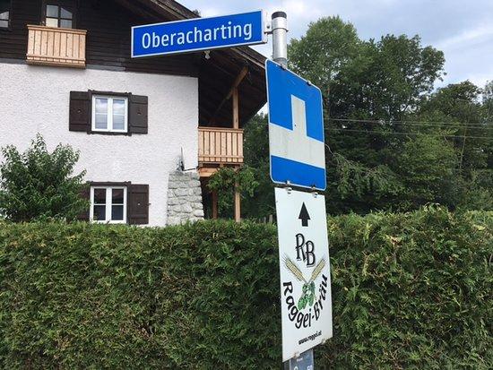 Anthering, Austria: Zwischen Oberndorf und Bergheim Abfahrt Acharting - hier kurz vorm Ziel