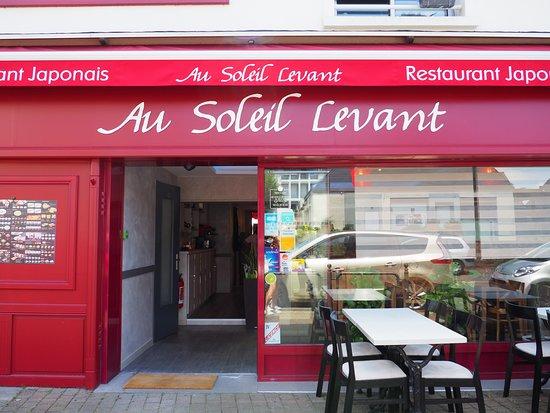 Sainte-Luce-sur-Loire, France: La devanture du restaurant