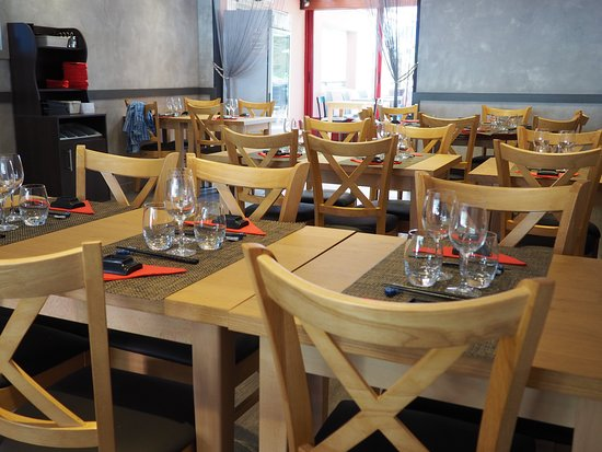 Sainte-Luce-sur-Loire, France: Intérieur du restaurant