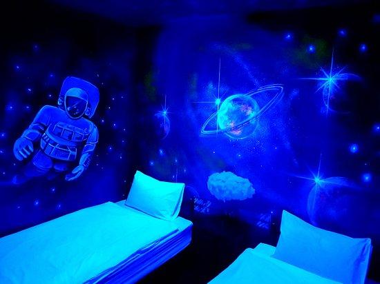 Baan Tai, Thailand: Deluxe Triple Bedroom / Galaxy Room