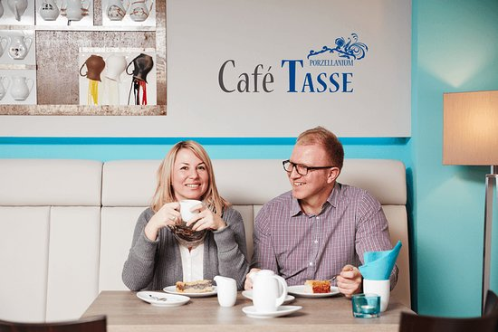 Triptis, Alemania: Café TASSE I coffee shop