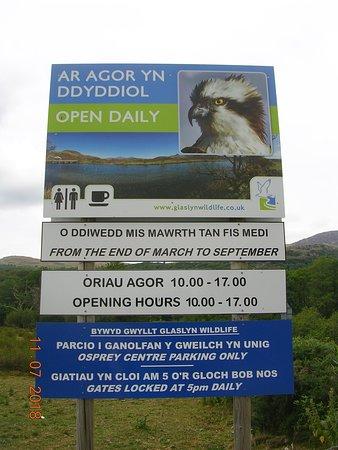 Glaslyn Wildlife Signage
