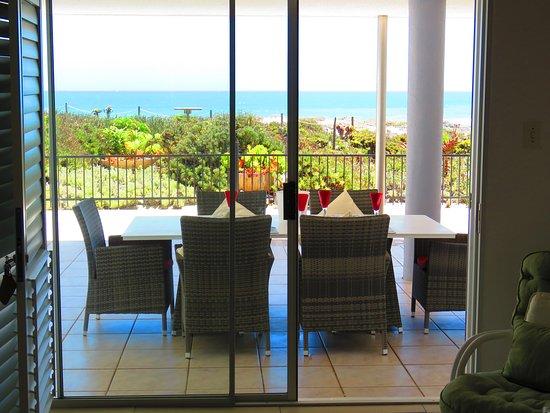 Yzerfontein, Sudáfrica: Luxury unit patio area