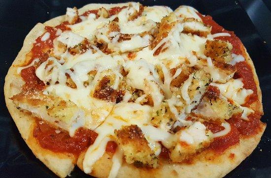 Enfield, CT: chicken parmesan panini pizza