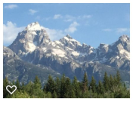 Grand Teton National Park: Grand Tetons with snow in July