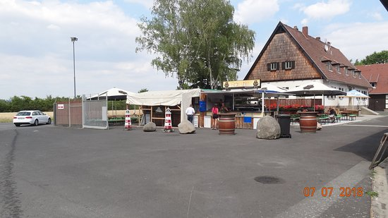 Trebur, Germany: Biergarten