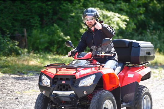 Matten bei Interlaken, Switzerland: have fun on a atv tour