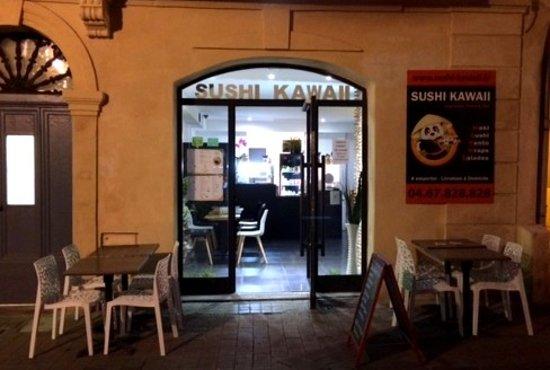 Sushi Kawaii: 58 rue Saint Guilhem Centre Ville Montpellier