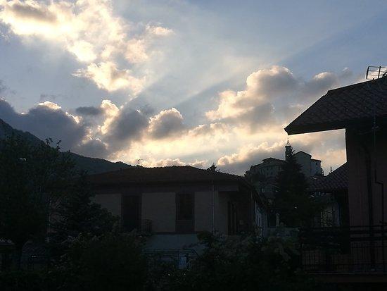 Panorama verso Sante Marie