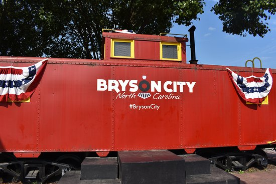 Great Smoky Mountains Railroad: In Bryson City