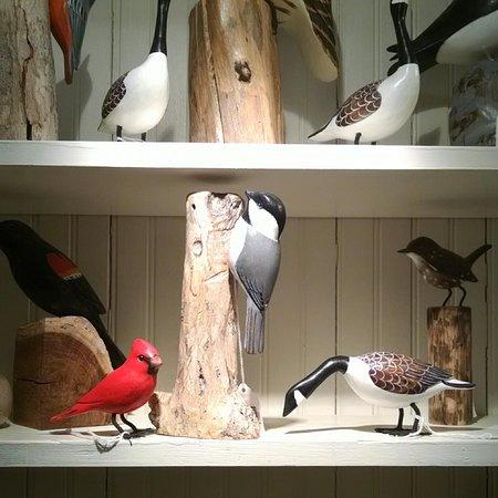 Timeless Cottage: Handcarved Decorative Birds