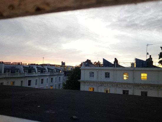 Palace Court Hotel: Widok z okna