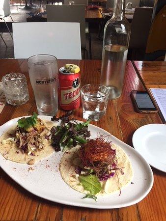 Santa Fe Restaurant: Beef & Pork Tacos