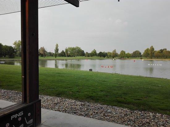 Golf Blue Green Bordeaux Lac