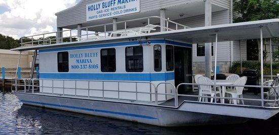 DeLand, فلوريدا: 38 foot Houseboat