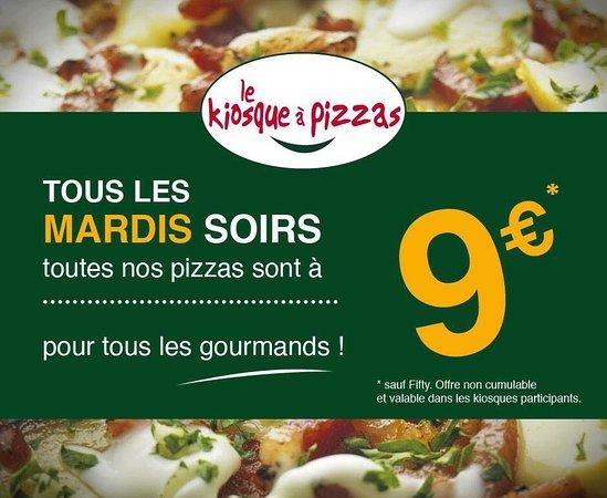 Saint-Mars-du-Desert, France: Pizzas à 9€