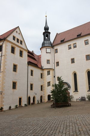 Colditz, Germany: Inside The Courtyard