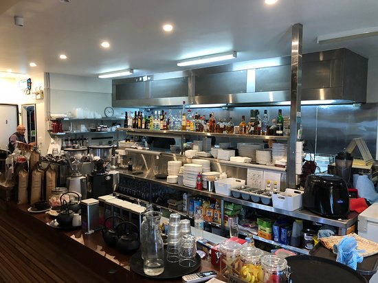 Bella Vista, Australia: Zac's - 1 of those confident & brave restaurants to expose their entire kitchen to the dining pu
