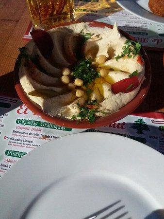 un' ottima cena libanese a Siviglia 😊
