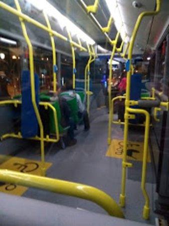 ônibus novo e espaçoso