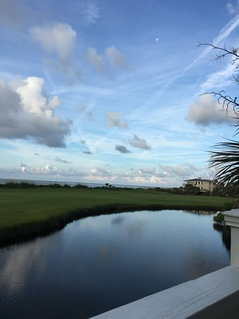 Fripp Island, Carolina del Sur: Ocean and golf course view from 325 Ocean Point Dr