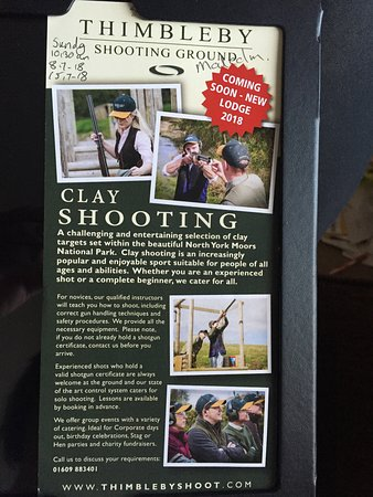 Thimbleby Shooting Ground Northallerton 2018 All You Need To