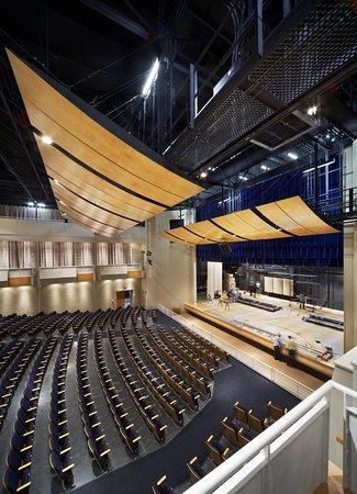 J.W. Seabrook Auditorium: Seabrook Auditorium Stage