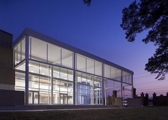 J.W. Seabrook Auditorium: Seabrook Auditorium at Twilight
