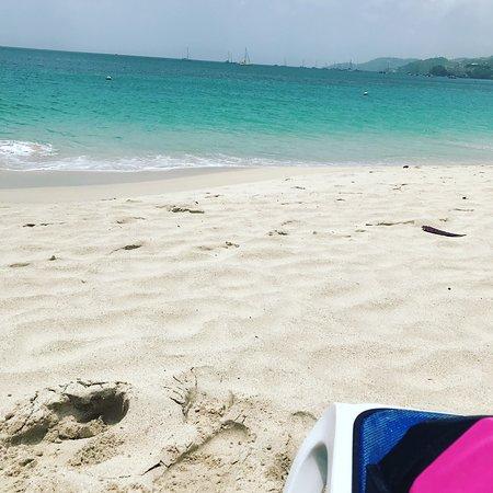 South Coast, Grenada: On the beach