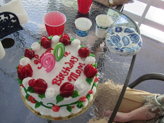 Holliston, MA: Italian Fruit Cake: Strawberries & Peaches.
