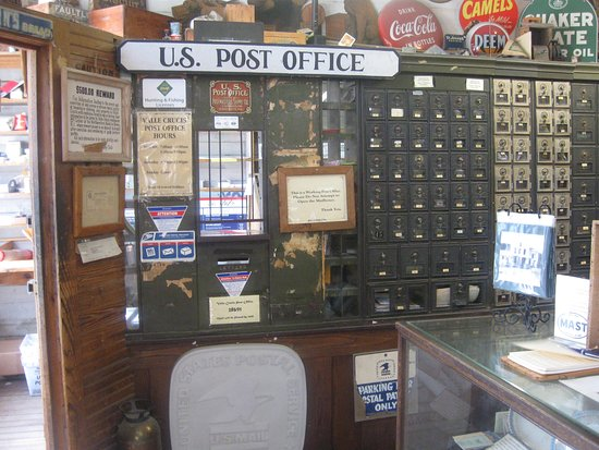 Mast General Store: Working Post Office inside of the Mast Store