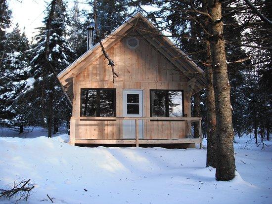 Notre-Dame-des-Bois, Canada: Camp rustique
