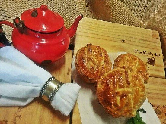 Louis Trichardt, Zuid-Afrika: Homemade pie