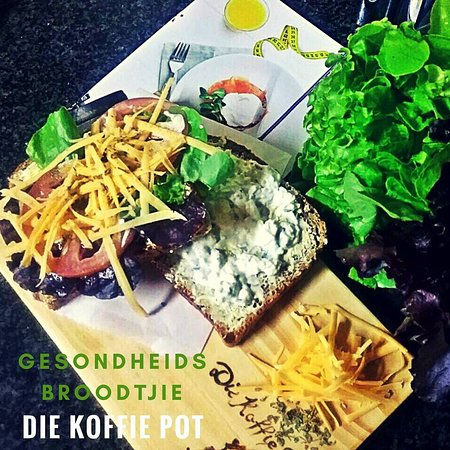 Die Koffie Pot Louis Trichardt: Healthy sandwich