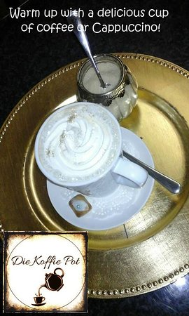 Die Koffie Pot Louis Trichardt: Cappuccino, coffee, tea, milo, hot chocolate