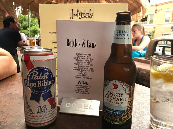Jolynn's Food & Spirits: Beer & Beer Menu