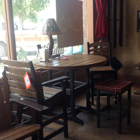 nice outdoor seating to enjoy the day with your coffee and ice cream rh tripadvisor com