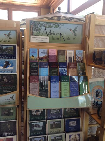 Westcliffe, CO: Advice from nature, great cards and book marks