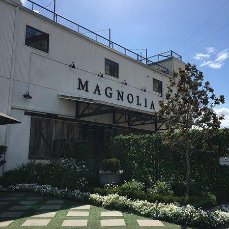 Magnolia Market at the Silos: Gardens around Magnolia market and the silos