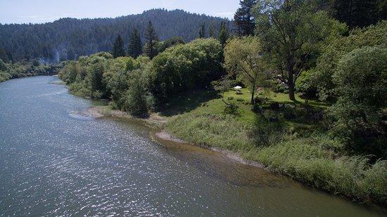Monte Rio, Californien: The Russian River runs right through our property