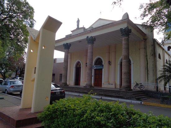 San Jose, Argentina: Frente del templo