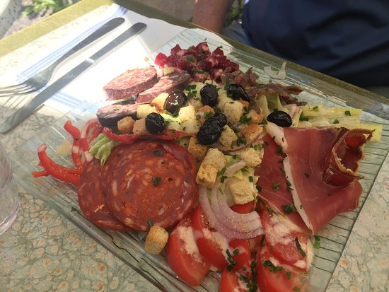 Formigueres, France: Salade