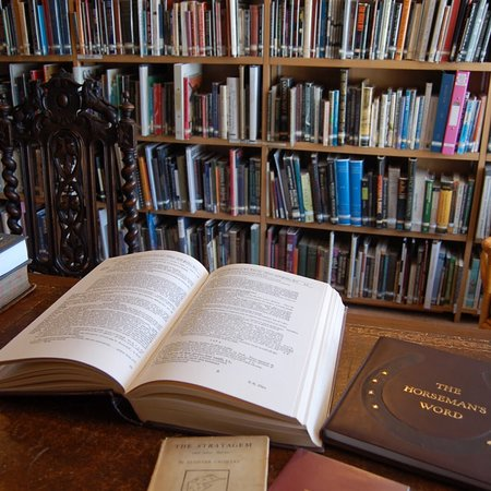 The Museum of Witchcraft and Magic: I've been lucky to been studying in the library during my stay in Boscastle