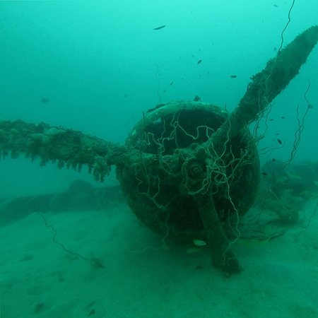Kavieng, Papua New Guinea: Japanese plane wreck