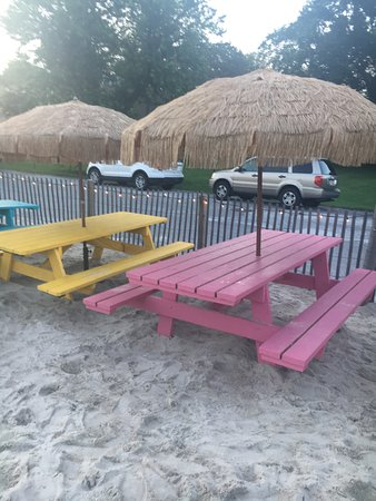 "Cockeysville, MD: Picnic Seating Area on the ""beach"""
